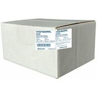 HighMark Industrial Garbage Bags, Clear, 36