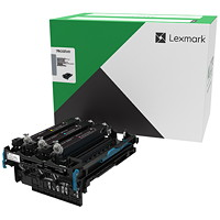 Ensemble d'imagerie Lexmark 78C0ZV0 Programme de retour, noir et couleur