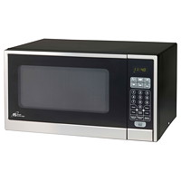 Royal Sovereign 1.1 cu ft Microwave Oven, Black/Stainless-Steel