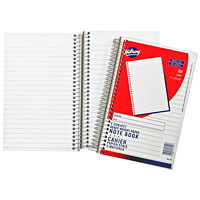 Hilroy 5-Subject Notebook, Coilbound, White, Lined, 6