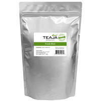 TEAJA Organic Loose Leaf Fresh Mint Tea