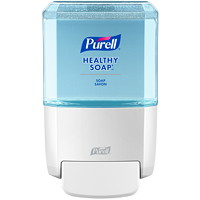 Purell ES4 Push Style Hand Soap Dispenser, White, 1,200 mL Capacity