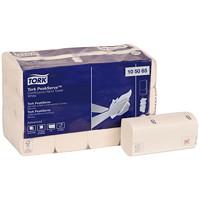 Serviettes à main à alimentation continue Advanced PeakServe Tork, blanc, emb. de 410, caisse de 12