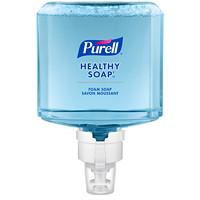 Purell Healthy Soap Mild Foam, For ES8 Dispensers, 1,200 mL, 2/CT