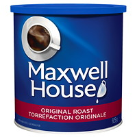 Café moulu Maxwell House, torréfaction originale, 925 g