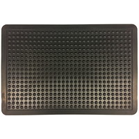 FloorTex Anti-Fatigue Bubble Mat, Black, 36