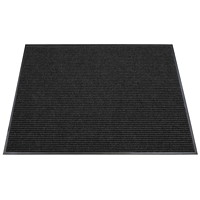 FloorTex Eco Runner Indoor Entrance Mat, Charcoal, 36