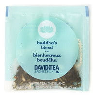 DAVIDsTEA Sachets Boxed Tea, Buddha's Blend, 25/Box