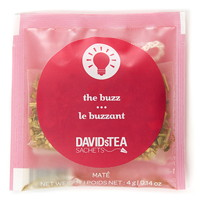 DAVIDsTEA Sachets Boxed Tea, The Buzz, 25/Box