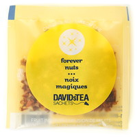 DAVIDsTEA Sachets Boxed Tea, Forever Nuts, 25/Box