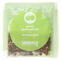 DAVIDsTEA Sachets Boxed Tea, Green Passionfruit, 25/Box