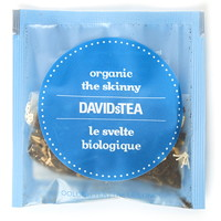DAVIDsTEA Sachets Boxed Tea, Organic, The Skinny, 25/Box
