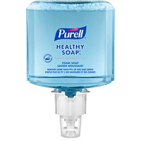 Purell CRT Healthy Soap High Performance Foam, For ES4 Dispensers, 1,200 mL, 2/CT