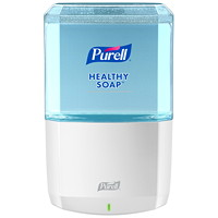 Purell ES6 Touch-Free Hand Soap Dispenser, White, 1,200 mL Capacity