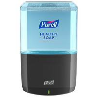 Purell ES6 Touch-Free Hand Soap Dispenser, Graphite, 1,200 mL Capacity