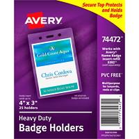 Porte-badges flexibles Avery