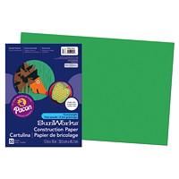 Papier de bricolage à haut grammage SunWorks Pacon, vert émeraude, 12po x 18po, emb. de 50