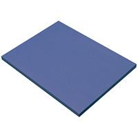 Papier de bricolage à haut grammage SunWorks Pacon, bleu, 18po x 24po, emb. de 50