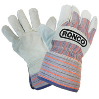 Ronco Split Leather Fitters Cold Resistant Fleece Lined Gloves