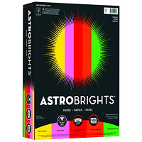 Neenah Astrobrights Vintage Colour Paper, Letter-Size, FSC And Green Seal Certified, 24 lb., Ream