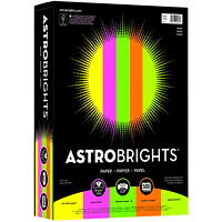 Neenah Astrobrights Neon Colour Paper, Letter-Size, FSC And Green Seal Certified, 24 lb., Ream