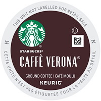 Starbucks Coffee Single-Serve K-Cup Pods, Caffé Verona, 24/BX