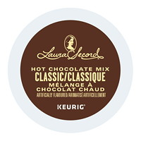 Laura Secord Dark Hot Chocolate Mix Single-Serve K-Cup Pods, 24/BX