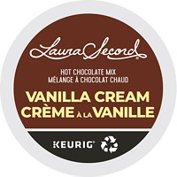 Laura Secord Hot Chocolate Mix Single-Serve K-Cup Pods, Vanilla Cream, 24/BX