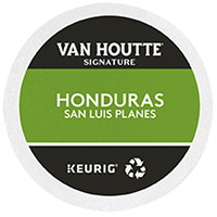 Van Houtte Single-Serve Coffee K-Cup Pods, Honduras San Luis Planes, 24/BX