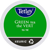 Tetley Tea Single-Serve K-Cup Pods, Green Tea, 24/BX