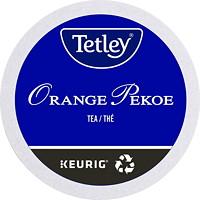 Dosettes K-Cup de thé Tetley, Orange Pekoe, boîte de 24