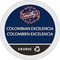 Timothy's Single-Serve Coffee K-Cup Pods, Colombian Excelencia, 24/BX