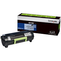 Lexmark 601XE Black Extra-High Yield Unison Contract Cartridge (60F1X0E)