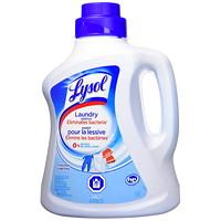 Additif antibactérien pour la lessive Lysol, parfum de linge frais, 2,7l