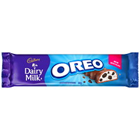 Cadbury Dairy Milk Oreo Chocolate Bars, 38 g, 12/CS