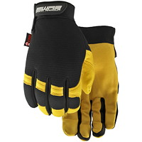 Gants en cuir hydrofuge Flextime Dryhide Work Armour, grand
