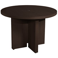 Safco Aberdeen Conference Table, Mocha, 42