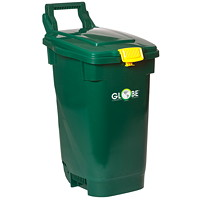 Bac pour compostage Globe Commercial Products, vert, 13gallons