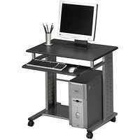 Safco Eastwinds Empire Mobile Station, Anthracite Grey, 29 3/4