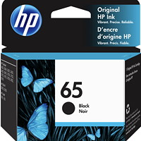 HP 65 Black Standard Yield Original Ink Cartridge (N9K02AN)