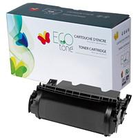 Cartouche de toner universelle à rendement élevé remise à neuf EcoTone pour imprimantes Dell (RCU091), noir