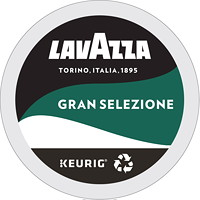 Dosettes K-Cup de café Gran Selezione LavAzza, torréfaction foncée, boîte de 24