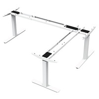 ergoCentric upCentric 3-Leg Height-Adjustable Table Frame, 22