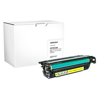 Grand & Toy Remanufactured HP 653A Yellow Standard Yield Toner Cartridge (CE322A)