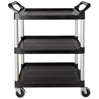 Rubbermaid Commercial 3424-88 Economy Utility Cart with 4