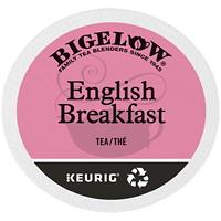 Dosettes K-Cup de thé Bigelow, thé English Breakfast, boîte de 24