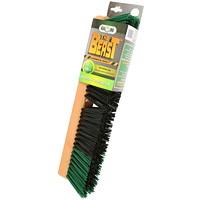 T?™te de balai-brosse avec bloc en bois Globe Commercial Products, balayage ferme, 18po