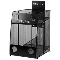 Keurig K-Cup Storage Rack, Black, Mesh, 4-Sleeve Capacity
