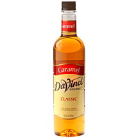 Da Vinci Gourmet Flavoured Syrup, Classic Caramel, 750 mL
