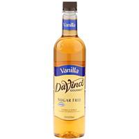 Da Vinci Gourmet Flavoured Syrup, Vanilla, Sugar Free, 750 mL